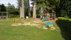 plaine de jeux pour les enfants