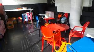 salle de jeux des enfants